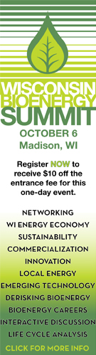 Ad: Wisconsin Bioenergy Summit: October 6