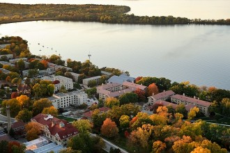 Photo: Lakeshore residence halls