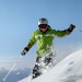 Photo: Skiier