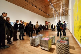 Photo: Chazen faculty art show