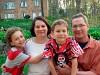 Kurt Saupe with family
