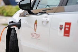 Photo: Chevy Volt in UW vehicle fleet