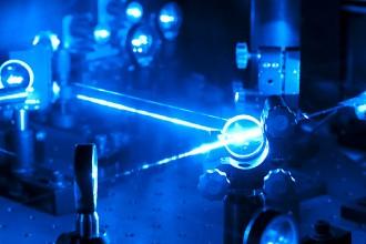 Photo: Laser lab