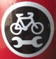 Photo: Bike station sign
