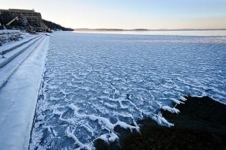 Photo: Lake Mendota ice