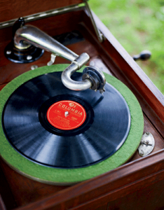 Photo: Record player