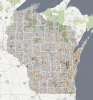 Photo: Wisconsin map
