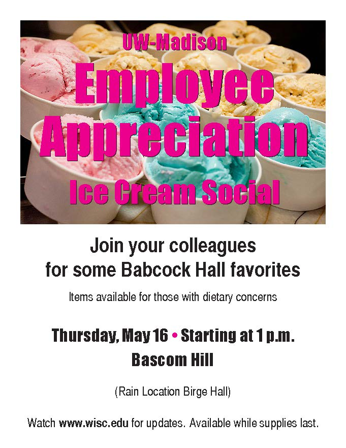 Car Rental Ann Arbor Ice Cream Social Poster Employee appreciation ice cream social inside ...