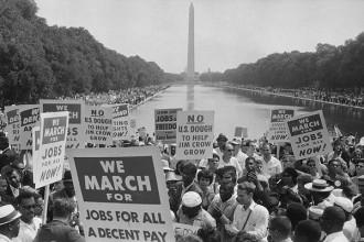 Photo: 1963 March on Washington