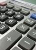 Photo: calculator keypad