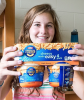 Photo: student with mac and cheese