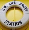 Photo: Lifesaving station floatation device