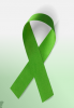 Image: green ribbon for mental illness awareness week