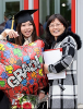 Photo: Chinese student and mother