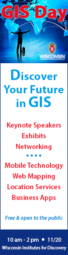 GIS Day ad for Inside UW 3