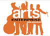 Graphic: Arts enterprise logo