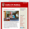 Graphic: Screen shot of current Inside UW-Madison issue