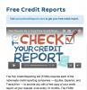 Photo: Screen shot of credit report website