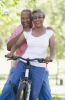 Photo: Biking couple
