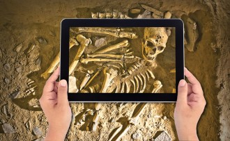 Photo: Digitizing archaeology
