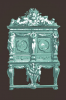 Illustration: Antique cabinet