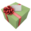 Illustration: Gift-wrapped box