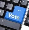 Photo: 'Vote' on the 'enter' key