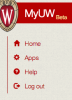 Screenshot: MyUW Beta