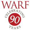 Graphic: WARF 90th anniversary logo