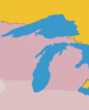 Graphic: Map of Great Lakes