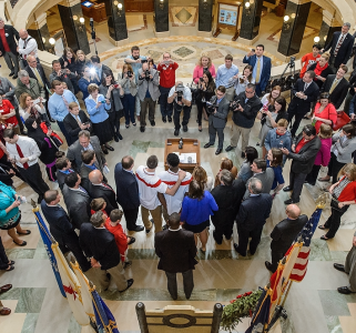 Photo: UW Day at the Capitol