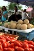 Photo: Vegetable stand at Farmers' Market