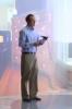 Photo: Man in virtual home