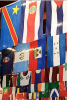 Photo: International flags