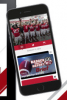 Photo illustration: Game day app on cellphone screen