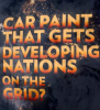 "Screen shot: Caption ""Car paint that gets developing nations on the grid"""