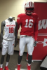 Photo: UW athletic uniforms