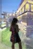 Photo: Visitor in virtual Taliesin