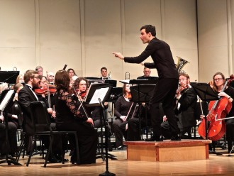 Photo: Kyle Knox conducting