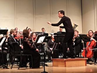 Photo: Kyle Knox conducting