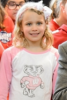 Photo: Girl in Bucky Badger shirt
