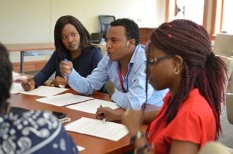Photo: Mandela fellows in classroom