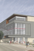 Image: Architect's rendering of exterior of SERF building