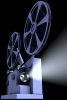 Image: Photo illustration of movie projector