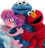 Photo: Sesame Street characters Abby Cadabby, Cookie Monster and Elmo