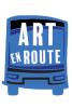 Illustration: Art en Route bus logo