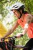 Photo: Woman riding bicycle