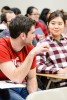 Photo: Students engaging in classroom discussion