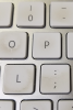 Photo: Dirty computer keyboard