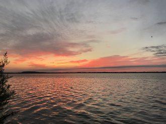 Photo: Sunrise over Lake Mendota